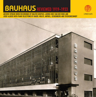 BAUHAUS REVIEWED 1919-33 [LTMCD 2472]
