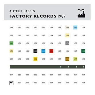 Auteur Labels: Factory Records 1987 [LTMCD 2555]