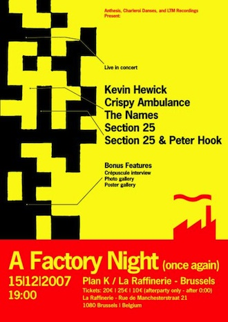 A Factory Night (Once Again)